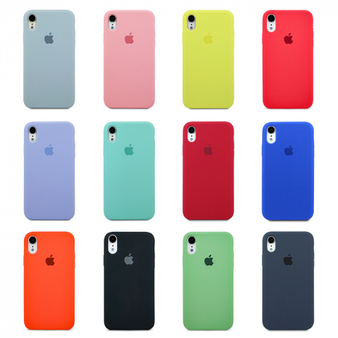Чехол для iPhone XR  Apple Silicone Case Simple