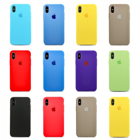 Чехол для iPhone X  Apple Silicone Case Simple